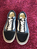 Used Vans old skool navy blue in Dubai, UAE