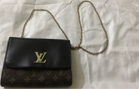 Used Lv bag with free 🎁pants in Dubai, UAE