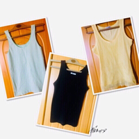 Used 3 Ladies Tank Tops 💙 in Dubai, UAE