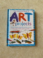 Used The Usborne Book of Art Projects in Dubai, UAE