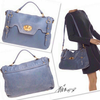 Used Authentic Miu Miu East /West Bag 💙 in Dubai, UAE