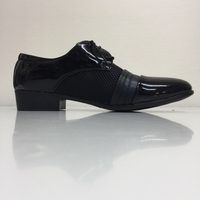 Used Black shoes for man size 46 in Dubai, UAE