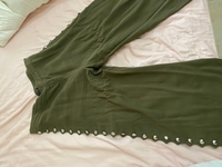 Used Zara green pants  in Dubai, UAE