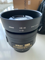 Used Nikon AF-S DX Nikkor 35mm F/1.8G  in Dubai, UAE