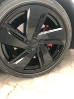 "Used 18"" alloy rims with tires  in Dubai, UAE"
