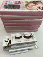Used 1 box of eyelashes contains 10 pieces in Dubai, UAE