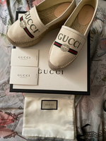 Used Authentic Gucci Offwhite espadrilles in Dubai, UAE