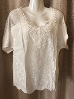 Used Light summer embroidered top in Dubai, UAE