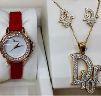 Used Watch + Jewelry Set  in Dubai, UAE