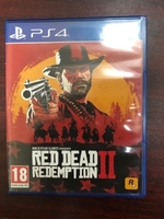 Used 4 PS4 Games Red Dead GTA 5 Tomb Raider  in Dubai, UAE