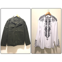 Used New Bundle Jacket & Shirt Size XL/2XL in Dubai, UAE