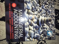 Used Managerial accounting book in Dubai, UAE