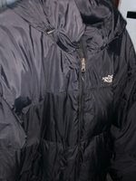 Used The north face puffer jacket 700 black  in Dubai, UAE