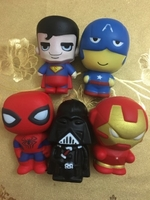 Used Toys Squishy action heroes in Dubai, UAE