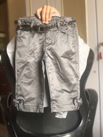 Used New H&M Stylish shine pant & belt 4-5y👇 in Dubai, UAE