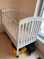 Used Baby crib on wheels fits through doors in Dubai, UAE