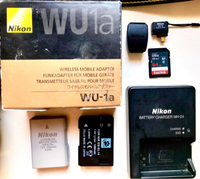 Used Nikon D3300 (body&lens) + Accessories in Dubai, UAE