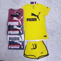 Used Shirt &short Puma for ladies Large 5 set in Dubai, UAE