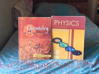 Used Free💥Physics&Chemistry text books.12th in Dubai, UAE