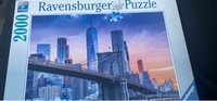 Used Puzzle 2000 pieces (new). in Dubai, UAE