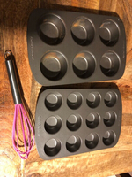Used Large 6, mini cupcake pan and whisk in Dubai, UAE