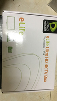 Used Elife ultra hd 4k tv box seal pack in Dubai, UAE