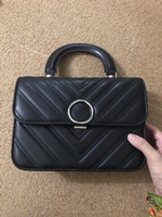 Used Charles and keith chevron hand bag in Dubai, UAE