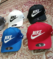 Used Caps Nike 4 pcs  in Dubai, UAE