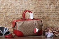 Used COACH LADIES BAG RED  in Dubai, UAE