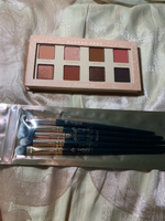 Used New makeup geek palette and free brushes in Dubai, UAE