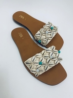 Used ZARA shell slippers  in Dubai, UAE