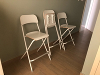 Used Three foldable high chairs in Dubai, UAE