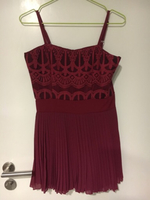Used Cute sexy dress red with race  in Dubai, UAE