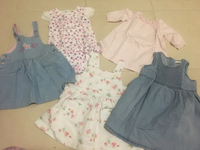 Used Baby girl clothes 0-18m in Dubai, UAE