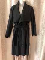 Used Black coat size XL in Dubai, UAE