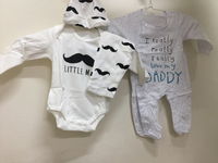 Used baby sets rompers 2 pc in Dubai, UAE