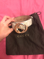 Used Gucci belt, authentic! in Dubai, UAE