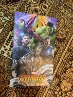 Used Avengers infinity war poster in Dubai, UAE