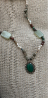 Used Necklace with silver pendant  in Dubai, UAE