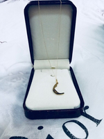 Authentic gold 18k with pendant new