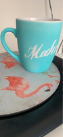 Used A blue mug that has mahra writing on it in Dubai, UAE
