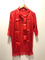 NEW Robe & Gown Sets Size M Red