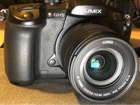 Used Panasonic gh5 with 12-60 + 25 mm lens  in Dubai, UAE