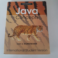 "Used English Book ""JAVA CONCEPTS "" in Dubai, UAE"
