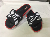 Used Adidas men's slippers new size 42 in Dubai, UAE