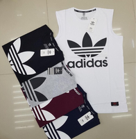 Used Adidas leaves sleeveless 5 pcs Large in Dubai, UAE