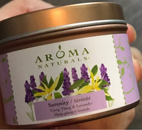 Used Aroma Naturals Soy  Candle Serenity/شمعه in Dubai, UAE