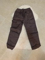Used Grey cargo pants size s in Dubai, UAE