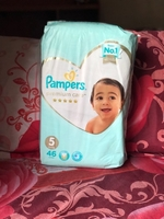 Used New Pampers Premium Care ⭐️ size 5 46pc  in Dubai, UAE