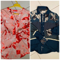 Used Two blouses small in Dubai, UAE
